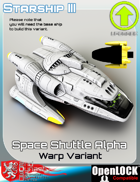 Space Shuttle Alpha Warp Variant