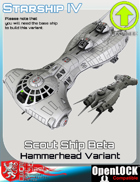 Scout Ship Beta Hammerhead Variant
