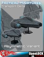 Tactical Miniatures Transport Delta Asymmetric Variant