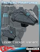 Tactical Miniatures Transport Delta Upper Cockpit Variant