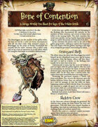Saga of the Goblin Horde: Bone of Contention (Savage Worlds)