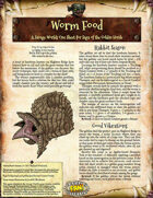 Saga of the Goblin Horde: Worm Food (Savage Worlds)