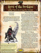 Saga of the Goblin Horde: Root of the Problem (Savage Worlds)