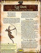 Saga of the Goblin Horde: Egg Hunt (Savage Worlds Deluxe)