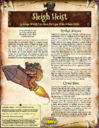 Saga of the Goblin Horde: Sleigh Heist (Savage Worlds)