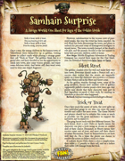 Saga of the Goblin Horde: Samhain Surprise (Savage Worlds Deluxe)