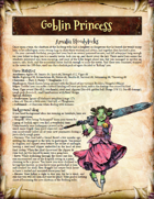 Saga of the Goblin Horde: Goblin Princess (Savage Worlds)