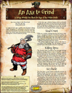Saga of the Goblin Horde: An Axe to Grind (Savage Worlds)