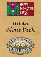 Savage Worlds Urban Chase Deck