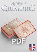 Norse Grimoire for 5th Edition - Spell Cards ENG - Galdrastafir