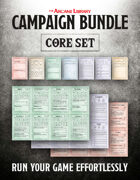 Combat Cards: Campaign Bundle Core Set (5E)
