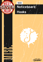 100 Noticeboard Hooks