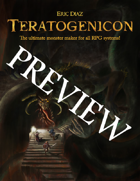 Teratogenicon PREVIEW
