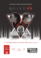 Quietus - A roleplaying game of melancholy horror