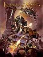 Legends of Kralis - Quick Start
