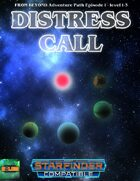 Distress Call - Starfinder Adventure