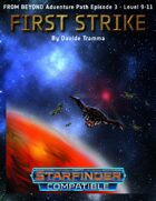 First Strike - Starfinder Adventure