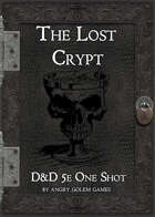 The Lost Crypt - one shot adventure