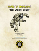 Hamster Highlight: The Wight Stuff