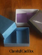 Clamshell Card Box for Mini Size Cards