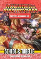 Mutants & Masterminds  - Schede & Tabelle
