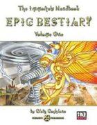 Immortals Handbook - EPIC BESTIARY: Volume One