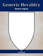 Generic Heraldry: Heater Argent