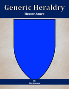 Generic Heraldry: Heater Azure