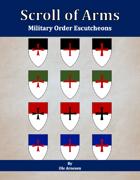 Scroll of Arms: Military Order Escutcheons [BUNDLE]
