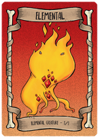 Elemental Red Token