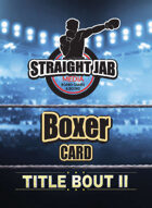 Middleweight Card Set