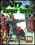 17 Ranger Spells