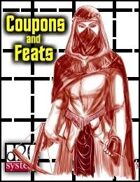 Coupons & Feats