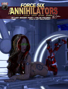 Force Six, The Annihilators 16 False Figures