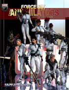 Force Six, The Annihilators Building Blocks Vol I