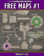 P.B. Publishing Presents: FREE MAPS 1 - Baphomet's Lair