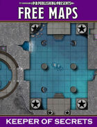 P.B. Publishing Presents: FREE MAPS 4 - Keeper of Secrets