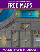 P.B. Publishing Presents: FREE MAPS 8 - Maestro's Hideout
