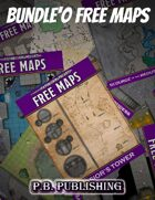 P.B. Publishing: Bundle'O FREE MAPS [BUNDLE]
