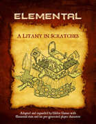 A Litany in Scratches (Elemental Edition)