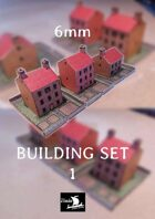 6mm Houses set 1