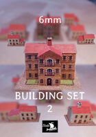 6mm Houses set 2