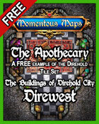 A FREE Building of Direhold City: The Apothecary
