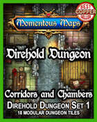 Direhold Dungeon: Corridors and Chambers