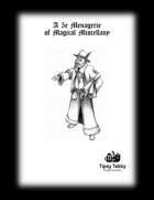 A 5e Menagerie of Magical Miscellany