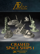 Crashed Space Ships 1