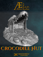 Fantasy Villages: Crocodile Hut