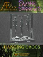 Swamp of Sorrows - Hanging Crocs