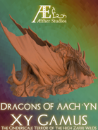 World of Aach'yn: Xy Gamus the Ash Dragon