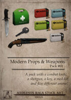 Modern Props & Weapons Pack #01